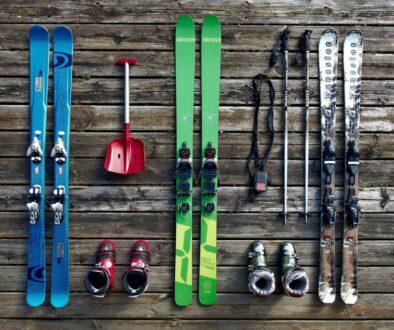 slipa skidor